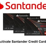 Activate Santander Credit Card, Santander Card Activation