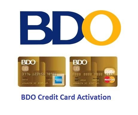 BDO Credit Card Activation