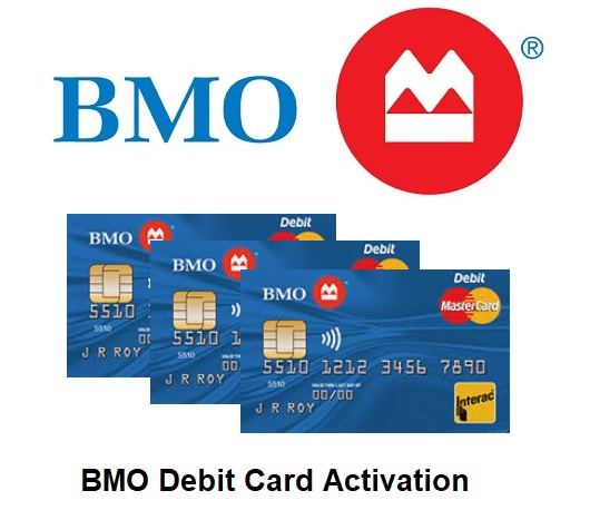 BMO Debit Card Activation