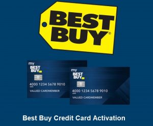 Best Buy Credit Card Activation