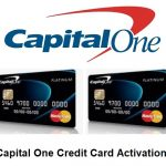 Activate Capital One Card, Capital One Credit Card Activation