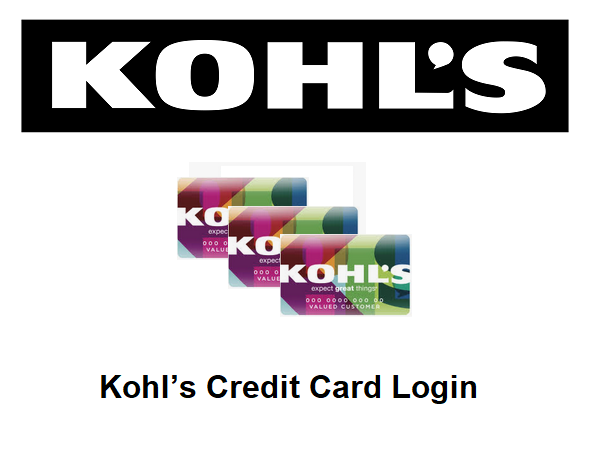 Kohl's Credit Card Login