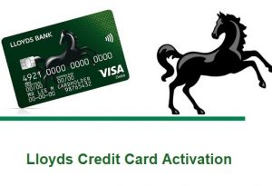 Lloyds Credit Card Activation
