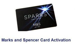 Marks and Spencer Card Activation