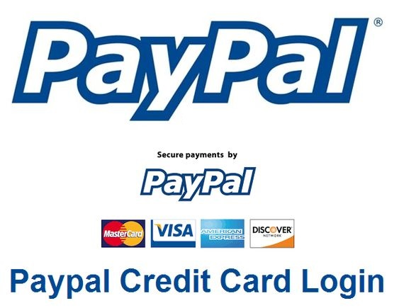 Paypal Credit Card Login