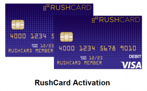 RushCard Activation