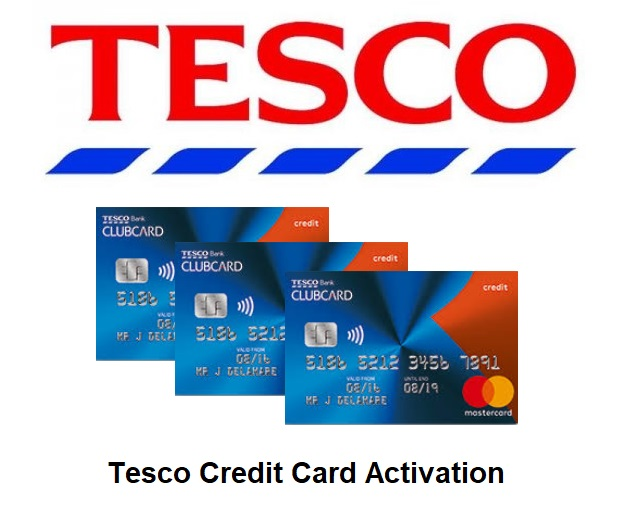Tesco Credit Card Activation