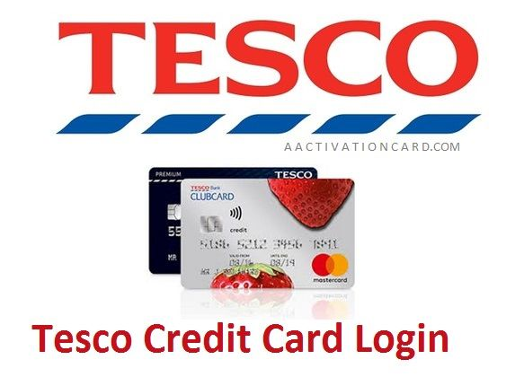 Tesco Credit Card Login