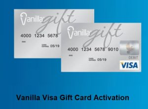 Vanilla Visa Gift Card Activation