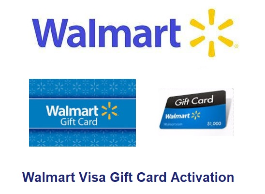 Walmart Visa Gift Card Activation