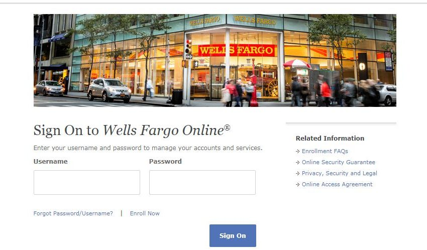 Wells Fargo Card Activation